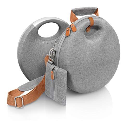 CaseSack – Carrying Case for Harman Kardon Onyx Studio 5, Onyx Studio 6 Bluetooth Wireless Speaker (Tweed Gray)