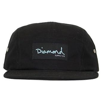 d70b9c3b019aa ... netherlands diamond supply co og script 5 panel cap black a9175 6735a  ...