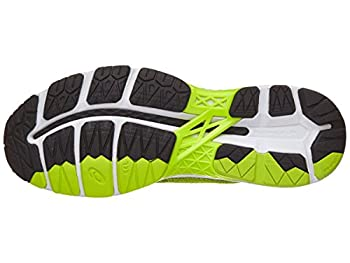 Asics Men's Gel-kayano 24 Running-shoes, Sulphurblackwhite, 11 D(m) Us 4