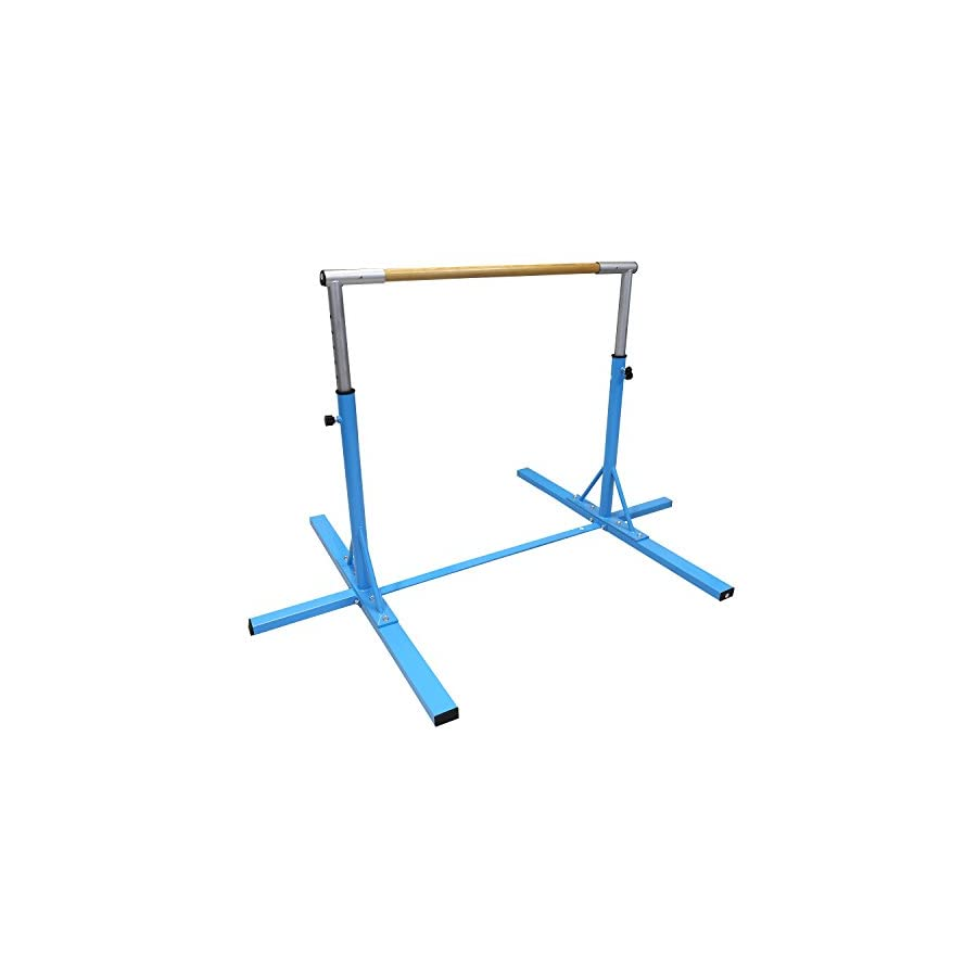 Bestmart INC Gymnastics Junior Training Bar Adjustable 3' to 5' Model DX Barney