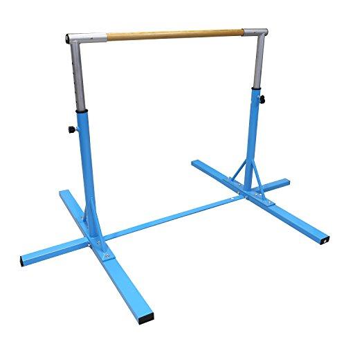 Bestmart INC Gymnastics Junior Training Bar Adjustable 3' to 5' Model DX Barney
