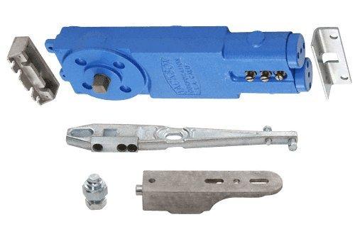 CRL/Jackson® Adjustable Spring Power 105 Degree Hold-Open Overhead Concealed Closer With ''U'' Side-Load Hardware Package