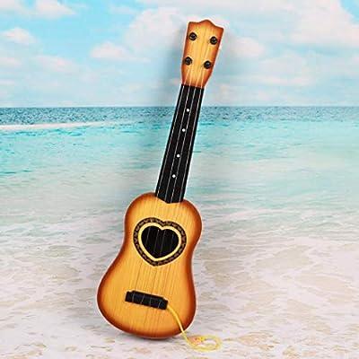 YENJO Random 1 PC Mini Simulation Guitar Kids Musical Instruments Education Toys Gift Pianos & Keyboards: Clothing