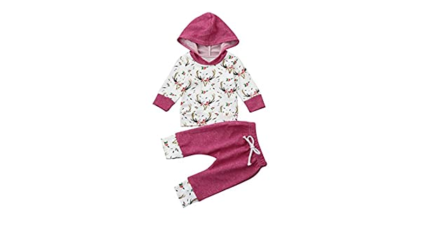 TM NEW F//W Deer Hooded Infants Wear Baby Girls Layette Gift Set Clothes Set 0-18mos Shop the Look Memela