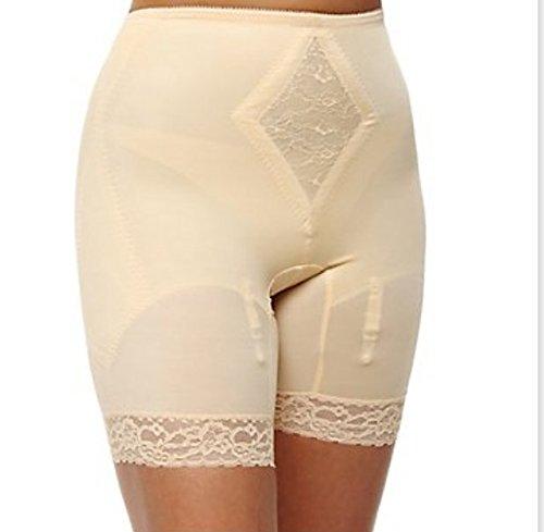 Rago Shapewear Long Leg Pantie Girdle Style 6795 - Beige - 5XLarge
