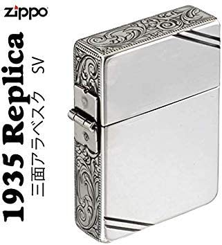 ZIPPO(ジッポー) 1935 DL 3側面 アラベスク SV ダイアゴナルライン 唐草 [正規品]