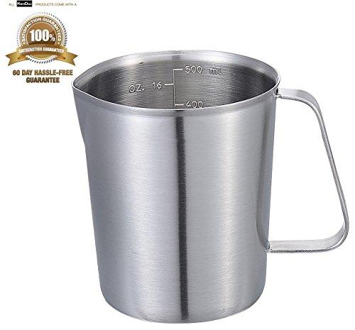 metal 2 cup measuring cup - 3