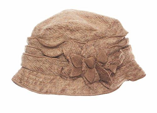 Jean  (Brown Cloche Hat)