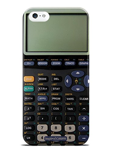 Inspired Cases 3D Textured Calculator Case for iPhone 5 & 5s (Case Calculator For Iphone 5)