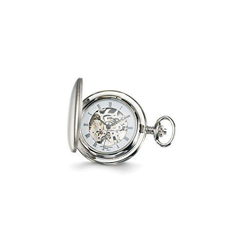 Charles Hubert White Skeleton Dial Pocket Watch ()