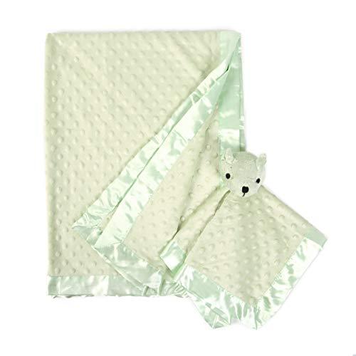 (Tadpoles Teddy Stroller & Snuggle 2 Piece Blanket Set - Green)