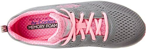 Sneaker Skechers Rosa Piece Fit Donna Fashion Grigio nbsp;statement qw6IzAarw