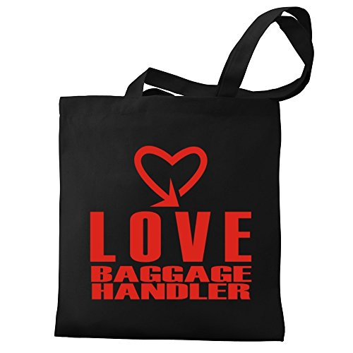 Borsa Handler Eddany cool in Canvas Baggage style Tela Love wqwSx74XEZ