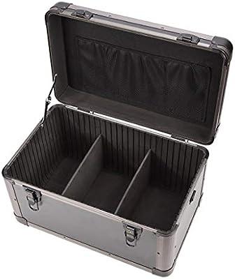 Caja de herramientas for el almacenamiento de herramientas o hardware manualidades, caja de herramientas, maleta de aluminio, aluminio de alta resistencia, resistente a la intemperie y una abolladura: Amazon.es: Hogar