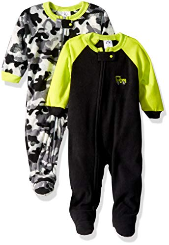 Gerber Baby Boys' 2-Pack Blanket Sleeper, camo, 18 ()