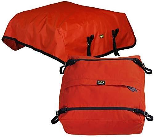 TrailMax 長方形スタイル トップパックとレインカバーコンボ オレンジ
