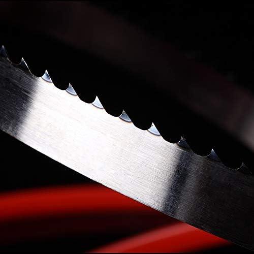 X-BAOFU, 1650mm Wood Band Saw Blades 1650 * 16 * 0.55mm*4 Teeth Saw Blades For Woodworking Band Saw Blades 16 * 0.55 * 1650mm*3 Teeth (Color : 2 Pieces 4 Teeth) 2 Pieces 4 Teeth