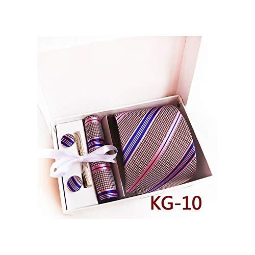 - Dashing Gentleman'S Tie & Accessory Gift Cufflink Box Gift for Dad Or Him Father'S Day Gift,Kg-10