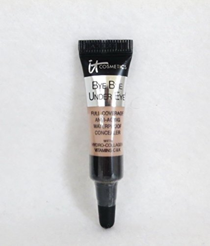 It Cosmetics Bye Bye Under Eye Full Coverage Anti-Aging Waterproof Concealer in Medium (Light-Medium) 0.11 FL OZ