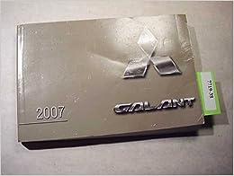 2007 mitsubishi galant owners manual mitsubishi amazon books 2007 mitsubishi galant owners manual fandeluxe Gallery