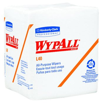- Wypall L40 Multipurpose Disposable Wiper Three Pack