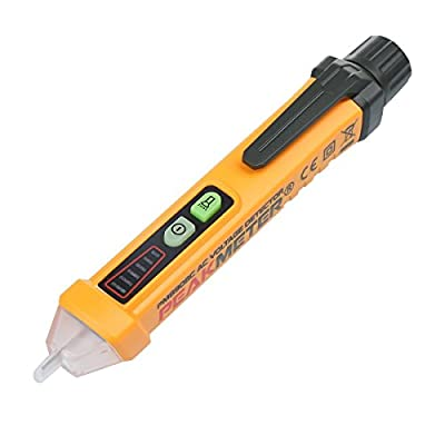LIMITED TIME SALE Voltage Tester Pen Non-Contact with LED Flashlight - 12V to 1000V Dual Range for Broad Application