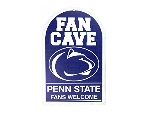 WinCraft NCAA Penn State University 95265010 Wood Sign, 11'' x 17'', Black by WinCraft