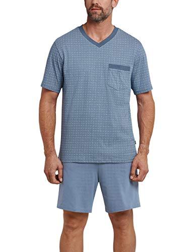 Schiesser Pyjama KurzEnsemble De Schlafanzug 824 Homme Bleuindigo CxoBde