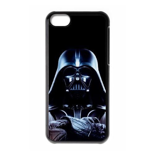 Starwars Viii coque iPhone 5c cellulaire cas coque de téléphone cas téléphone cellulaire noir couvercle EEECBCAAN01190