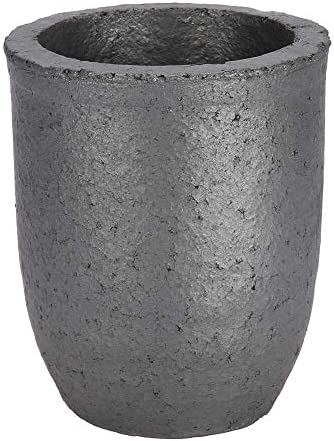 CHENBIN-BB 黒鉛ルツボ炉、6キロカップ容量シリコンカーバイドゴールドシルバーアルミ鋳造用ルツボ溶融ツールをキャスティンググラファイトトング炉をキャスティングツールを溶融
