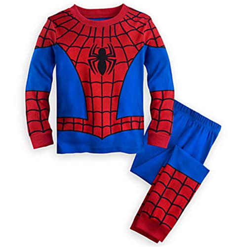 Children Funny Clothes Pajamas Sets Boys Girls Set Full Pants Shirts -