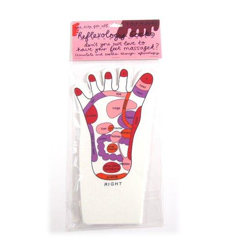 Réflexologie Massage chaussette rose