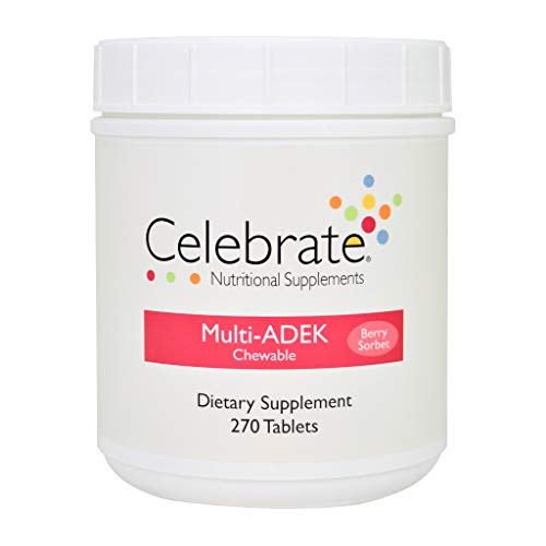 Celebrate Multivitamin ADEK – Berry Sorbet – 270 Count