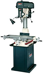 Jet Jmd 18pfn 230 Volt 1 Phase Mill Drill Built In Power