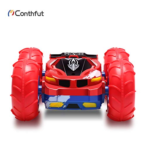 Conthfut RC Car Toys 360 Degree Flips High Speed 12km/h Off Road Racing Vehicles for Kids 4WD 2.4GHZ Remote Control Car