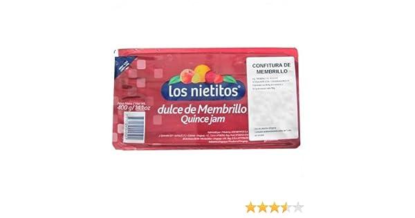 Amazon.com : Los Nietitos - Dulce de membrillo - Quince jam ...