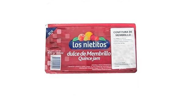 Los Nietitos - Dulce de membrillo - Quince jam: Amazon.es: Alimentación y bebidas