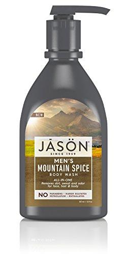 Price comparison product image JASON Men's Mountain Spice All-In-One Bodywash, 30oz