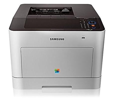 Samsung CLP-680DW - Impresora láser (A4, Ethernet, USB, LAN inalámbrica, 9600 x 600 dpi), Color Gris
