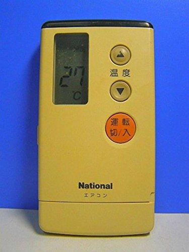 ナショナル エアコンリモコン A75C607