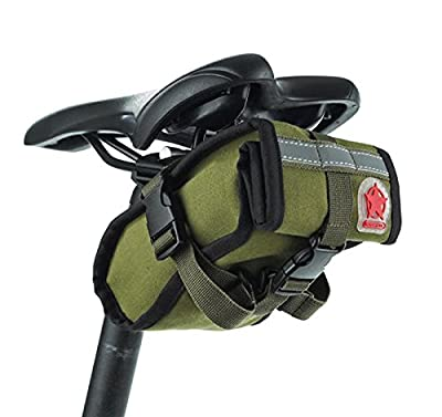 Roswheel Outdoor sports Cycling Bike Bicycle Mountain Road Under Seat Packs Tail Pouch -Green
