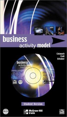 Business Activity Model Student CD-ROM