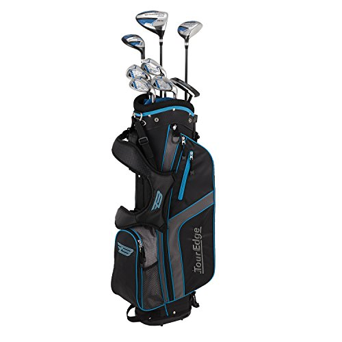 Tour Edge Unisex B3SRGU11.B Bazooka 360 Teen Golf Set Right Hand, Black/Blue