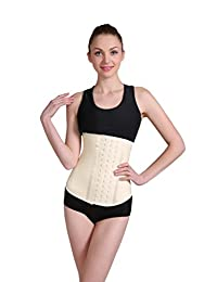 Ann Darling Women's Long Torso Latex Waist Trainer Hourglass Corset For Weight Loss