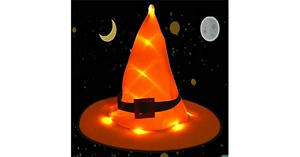 Amazon.com: ❤ Lemoning ❤ Sombrero de bruja para adulto ...
