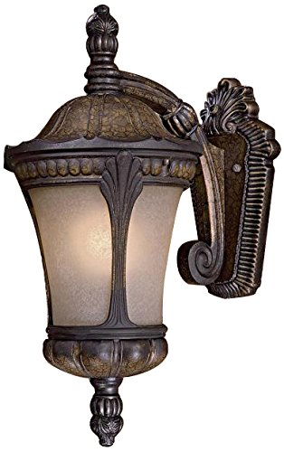 Minka Lavery 9142-407 3 Light Outdoor Wall Mount, Prussian Gold Finish by Minka Lavery