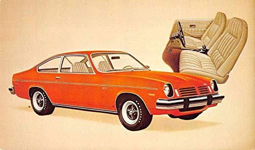 1974 Chevrolet Vega GT Auto Advertising Vintage Postcard JA4741494