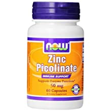 Zinc Picolinate by NOW - 60 capsules