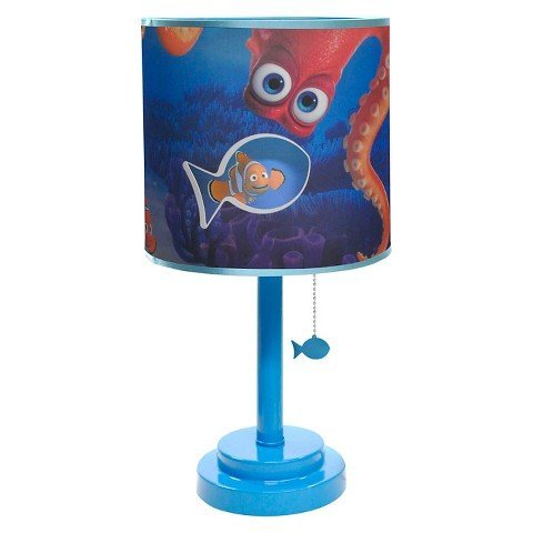 Finding Dory Diecut Table Lamp With Bulb Blue -... TRG