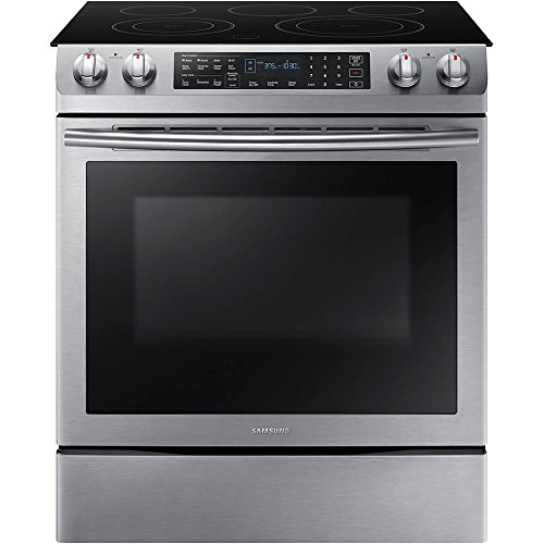 Electric Convection Slide In Range - Samsung Appliance NE58K9430SS 30